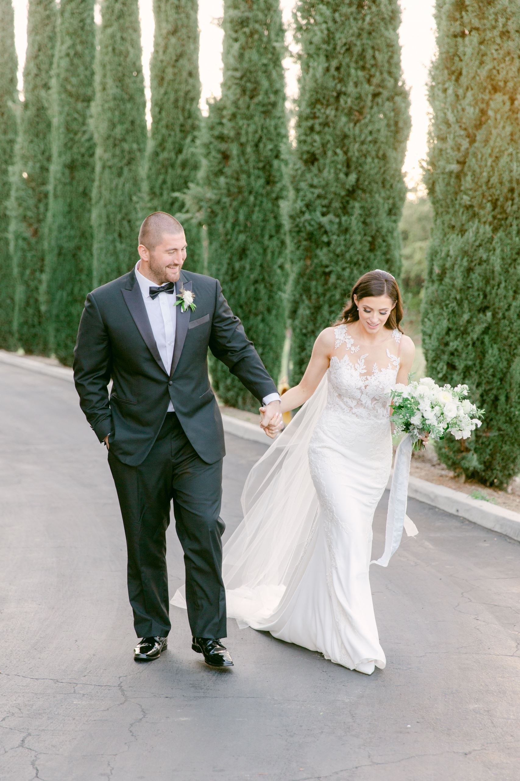 J.C. and Anna Tretter's San Diego Winter Wedding Image